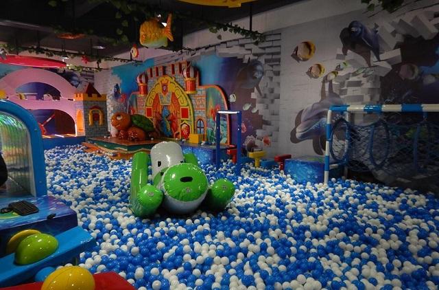 Projekt sali zabaw